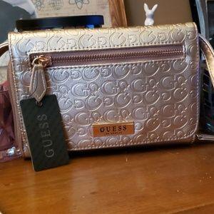 NWT Guess Clutch/Crossbody Bag